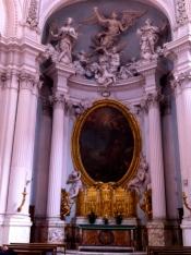 Inside Basilica de San Giovanni in Laterno